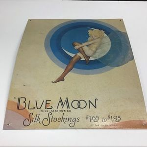 Other - Metal Blue Moon Sign